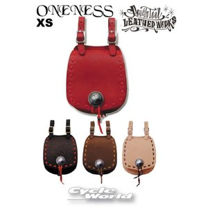 【Rough Tail】ONENESS サドルバッグ 《XSサイズ》 ワンネス カラーオーダー メディスンバッグ アメリカン ラフテール|cycle-world