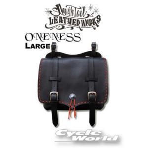 【Rough Tail】ONENESS サドルバッグ 《Lサイズ》 ワンネス カラーオーダー メディスンバッグ アメリカン ラフテール|cycle-world