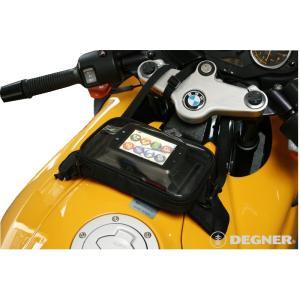 〔DEGNER〕 NB-18 吸盤式ナビタンクバッグ デグナー バイク用品|cycle-world