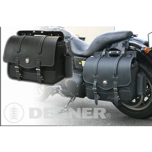 〔DEGNER〕 NB-10 ナイロンサドルバッグ 《容量:22L》 デグナー アメリカン バイク用品|cycle-world
