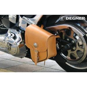 〔DEGNER〕 SB-15 リジッドサドルバッグ 《容量5L》 コンパクト デグナー アメリカン バイク用品 cycle-world