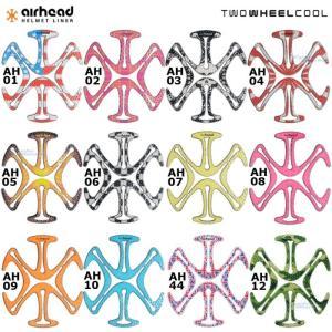 《あすつく/ネコポス送料無料》〔Twowheelcool〕エアーヘッド 全14色 airhead ト...