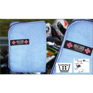 【Muc-Off】プレミアムマイクロファイバー磨き上げ専用クロス Premium Microfibre Polishing Cloth  マックオフ  【バイク用品】|cycle-world