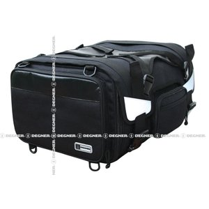 〔DEGNER〕 NB-53 ビッグシートバッグ 《容量:35〜52.5L》 大容量 大きめ  ツーリング デグナー バイク用品|cycle-world