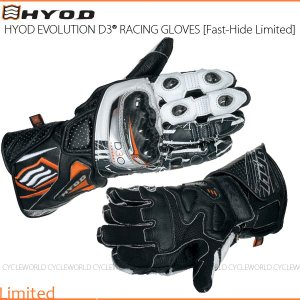 数量限定品《あすつく》〔HYOD〕HRG101DNL 《SPEED-CHROME》 EVOLUTION D3O RACING GLOVES [Fast-Hide Limited] レーシンググローブ レース|cycle-world
