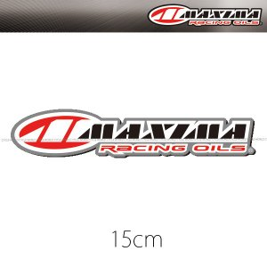 《ネコポス対応》〔MAXIMA〕MX50-10016 ロゴステッカー <15cm> シール LOGO STICKER マキシマ ダートフリーク cycle-world