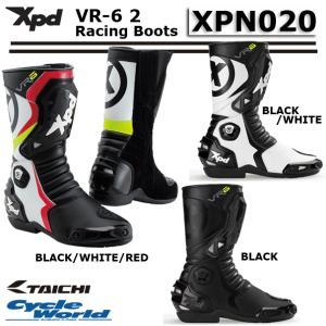 【XPD】XPN020 VR-6 2 レーシングブーツ バイク アールエスタイチ RSタイチ|cycle-world