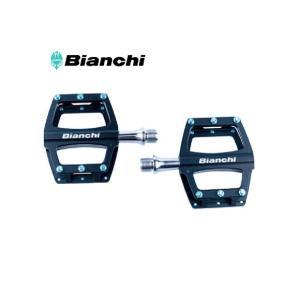 (春の応援セール)ビアンキ(BIANCHI) CNC アルミ フラットペダル