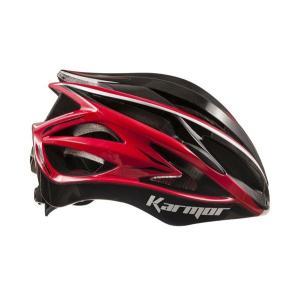 (22日はクーポンで最大1010円OFF)カーマー(KARMOR) ASMA2(アスマ2)<ブラック+レッド> ヘルメット|cycle-yoshida