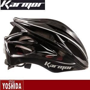 (22日はクーポンで最大1010円OFF)カーマー(KARMOR) ASMA2(アスマ2)<ブラック> ヘルメット|cycle-yoshida