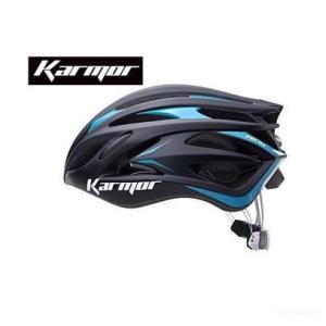 (22日はクーポンで最大1010円OFF)カーマー(KARMOR) FEROX2(フェロックス2)<ブラック/ブルー> ヘルメット Boa搭載|cycle-yoshida