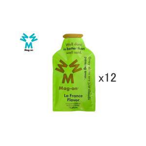 (キャッシュレス還元対象)マグオン(MAG-ON) マグオン エナジージェル ラ・フランス味 12個...