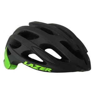 (春の応援セール)レイザー(LAZER) BLADE+ AF(ブレイドプラス アジアンフィット) <マットブラック/グリーン> ロードヘルメット|サイクルヨシダ PayPayモール店