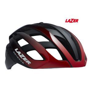 (春の応援セール)レイザー(LAZER) GENESIS AF(ジェネシス アジアンフィット) <レッドブラック> ロードヘルメット|サイクルヨシダ PayPayモール店