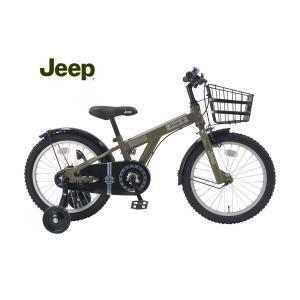 """(店舗受取送料割引)ジープ(JEEP) 20'JE-18G キッズバイク18"""""""