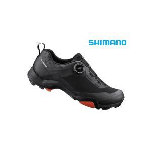 (春の応援セール)シマノ(SHIMANO) MT7(SH-MT701)ブラック SPD MTBシュー...