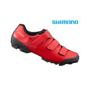 (セール価格7/31迄)シマノ(SHIMANO) XC1(SH-XC100)レッド SPD MTBシューズの画像