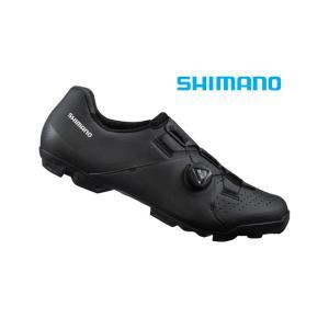 (決算セール)シマノ(SHIMANO) XC3(SH-XC300)ブラック SPD MTBシューズ