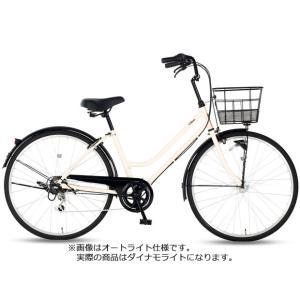 「クリーム」Cream City(クリーム シティ)266-J 26インチ 外装6段変速 ダイナモライト シティサイクル 自転車|サイクルベースあさひPayPayモール店
