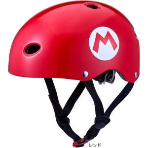 「送料無料」「あさひ」マリオカートキッズヘルメットS-J