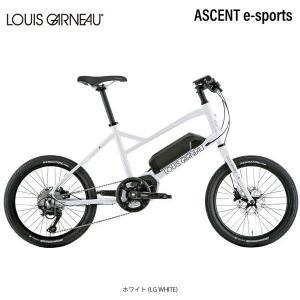 LOUIS GARNEAU ルイガノ ASCENT e-sports スポーツ電動自転車 E-bike イーバイク 店頭受取限定【ポイント5倍! 3/22-3/25】 cyclespot-dendou