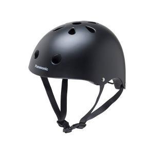 パナソニック 幼児用自転車ヘルメット MBK NAY001 マットブラック|cyclespot-dendou
