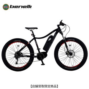 BENELLI ベネリ NERONE 27.5+ 電動自転車マウンテンバイク 2018年モデル E-bike イーバイク 店頭受取限定商品【ポイント5倍! 8/15-20】|cyclespot-dendou
