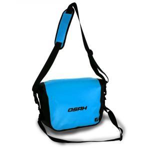 シンプル 防水メッセンジャーバッグ DRY PAK 8L 4カラー ドライバッグ 送料無料 OSAH-Q14607|cyclingnet