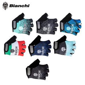 【即納】[10%OFF]BIANCHI MILANO Alvia Glove ビアンキ 指切グローブ...