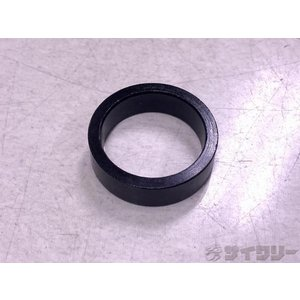 ヘッドパーツ コラムスペーサー 不明 コラムスペーサー ブラック 10mm/28.6mm - 中古|cycly
