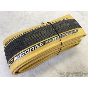 タイヤ 700C ビットリア クリンチャータイヤ CORSA 700×25C - 中古 cycly