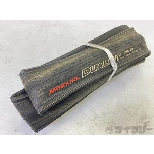 タイヤ 700C ミノウラ クリンチャータイヤ DUALIST 700×23C - 中古 cycly
