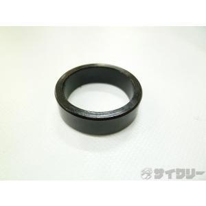 ヘッドパーツ コラムスペーサー 不明 コラムスペーサー アルミ ブラック OSコラム対応 高さ:10mm - 中古|cycly