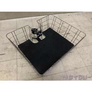 スタンド 展示用・メンテナンス用 ミノウラ ディスプレイスタンド用バスケット シルバー - 中古|cycly