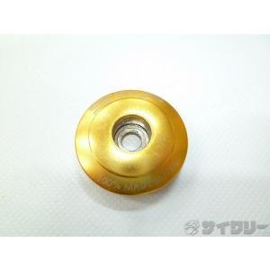 ヘッドパーツ アヘッド SRP ヘッドキャップ ゴールド OSコラム用 - 中古|cycly