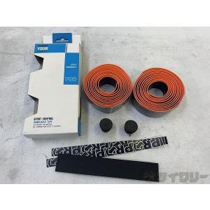 バーテープ 本体 シマノプロ バーテープ オレンジ/ブラック - 中古|cycly