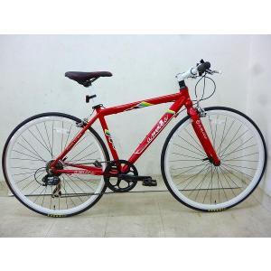 クロスバイク FUN レッド 440