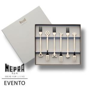 MEPRA EVENTO ミニフォーク6本ギフトセット【正規販売代理店】 d-aletta-ys