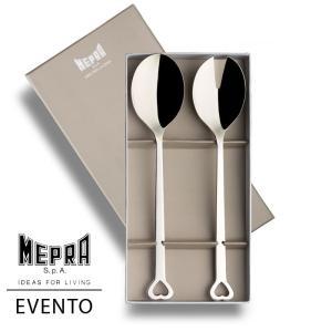 MEPRA EVENTO サラダサーバー2本ギフトセット【正規販売代理店】 d-aletta-ys