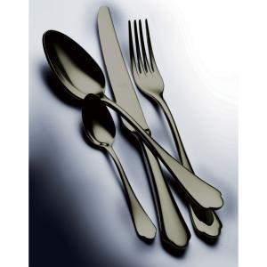 MEPRA DOLCE VITA ドルチェヴィータ オロネロ テーブル4ピースセット / PVDチタンコーティング ブラック 【正規販売代理店】|d-aletta-ys