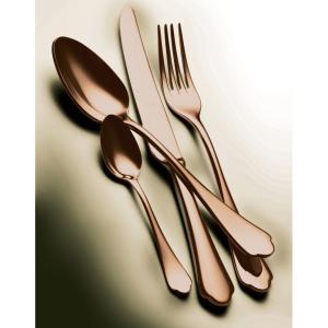 MEPRA DOLCE VITA ドルチェヴィータ ブロンゾ テーブル4ピースセット / PVDチタンコーティング ブロンズカラー 【正規販売代理店】|d-aletta-ys