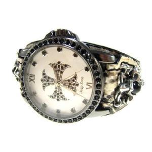 DeepZone パイソンレザーブレスウォッチ 腕時計 d-bijin
