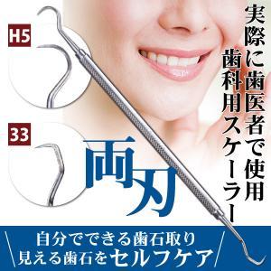 歯石取り スケーラー H5-33 実際に歯科医院で使用されているプロ仕様!ヤニ取り(メール便20点まで)|歯科医院専売品のデンタルフィット