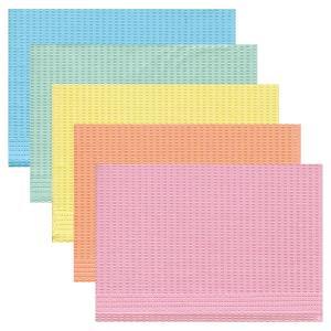 ペーパーエプロン 5カラーミックス 1箱(500枚)|d-fit