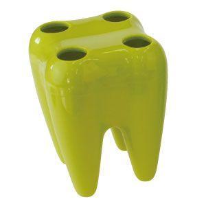 歯型歯ブラシスタンド(グリーン) ポイント消化|d-fit