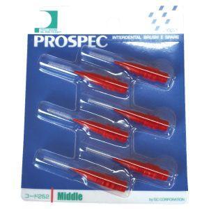 プロスペック 歯間ブラシII スペアー M 6本入(メール便18点まで) ポイント消化|d-fit