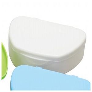 抗菌加工入れ歯ケース小 10個 アイボリー(国産) ポイント消化|d-fit