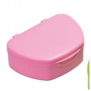抗菌加工入れ歯ケース小 10個 ピンク(国産) ポイント消化|d-fit