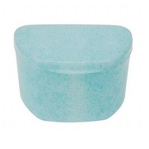 抗菌加工入れ歯ケース大 10個 マーブルブルー(国産) ポイント消化|d-fit