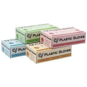 Ci プラスチックグローブ (パウダーフリー) Lサイズ 100枚入 ポイント消化|d-fit